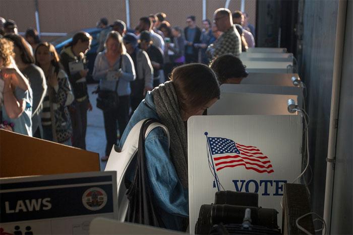 Cách thức hoạt động của máy kiểm phiếu bầu cử Mỹ