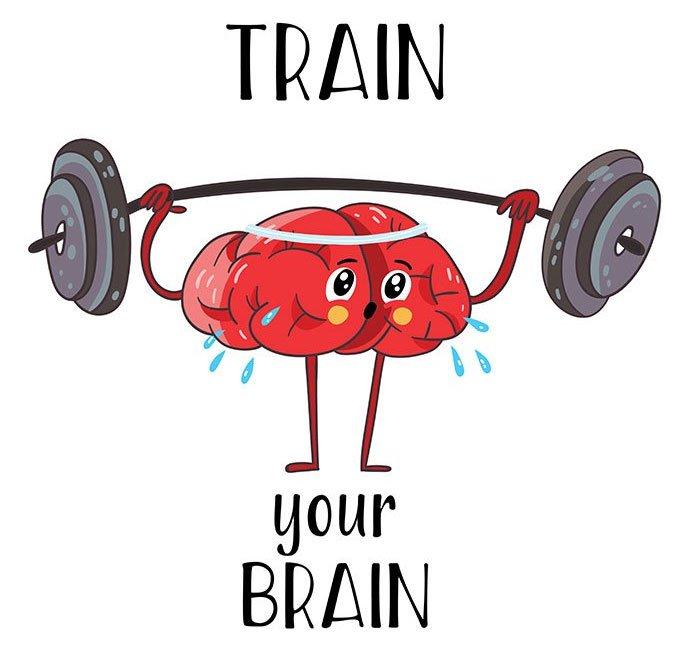 Cách tốt nhất để tài giỏi là bắt bộ não rèn luyện hằng ngày