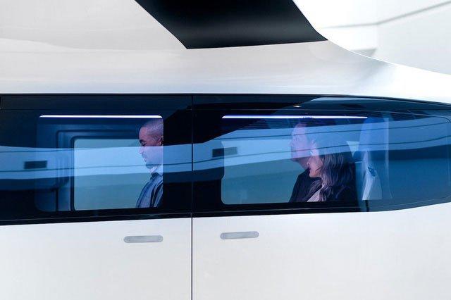 Cận cảnh nội thất taxi bay chở khách đầu tiên của Uber