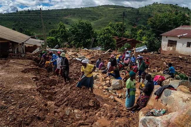 """Cận cảnh siêu bão Idai, """"thảm họa tồi tệ nhất Nam Bán cầu"""""""