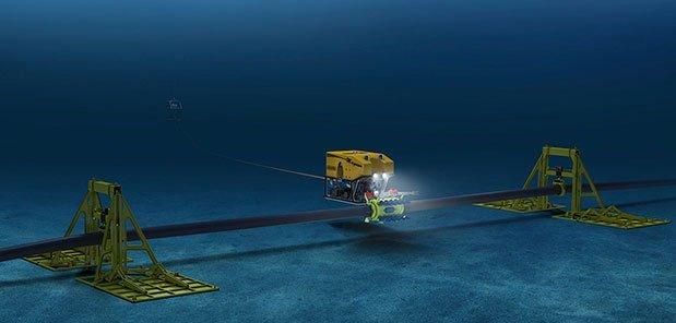 Cáp quang biển dễ đứt như vậy, vì sao không đặt cáp quang trên mặt đất?