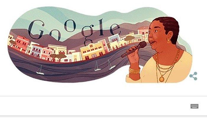 Cesária Évora là ai mà được Google Doodle vinh danh hôm nay?