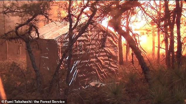 Chăn chống lửa - phương pháp phòng cháy mới?