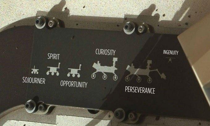 Chân dung gia đình robot trên phương tiện khám phá sao Hỏa