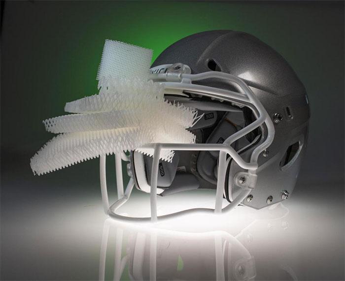 Chất liệu lót mũ bảo hiểm mới: Nhẹ hơn, hấp thụ lực tốt hơn, đội mũ mát hơn