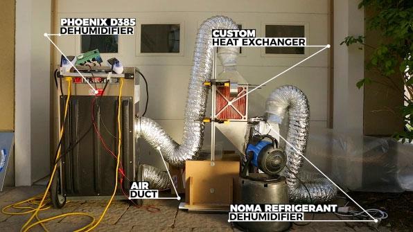 Chỉ cần gắn vào máy hút ẩm, vật liệu nano mới có thể tạo ra nước từ hư không