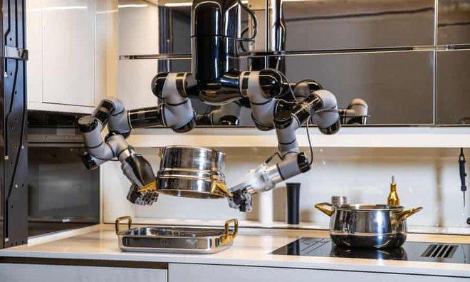 Chỉ với 7 tỷ đồng, bạn có thể sở hữu con robot biết nấu 5.000 món ăn hảo hạng, kiêm luôn rửa bát