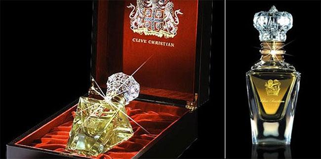 Chiêm ngưỡng lọ nước hoa 30 tỷ đồng nạm kim cương, dát vàng