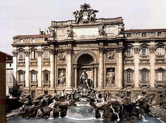 Chùm ảnh Rome những năm 1890 qua ảnh phục chế