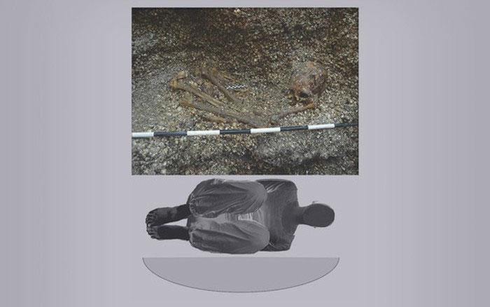 Cô gái bí ẩn nằm giữa vỏ sò trong mộ cổ 5.900 năm