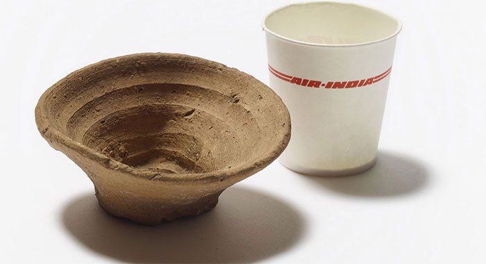 Cốc rượu 3.500 năm tuổi dùng một lần
