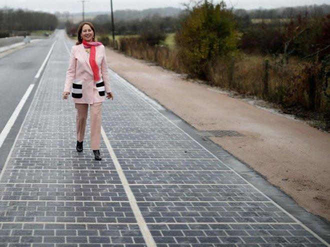 Con đường năng lượng Mặt trời đầu tiên: Không hiệu quả, nhiều đoạn vỡ vụn, hiệu suất giảm