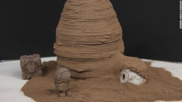 Con người sẽ xây dựng trên sao Hỏa như thế nào?