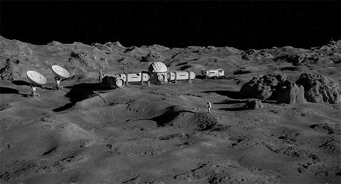 Con người sẽ xây nhà kho giống trên Mặt trăng đề phòng tận thế?