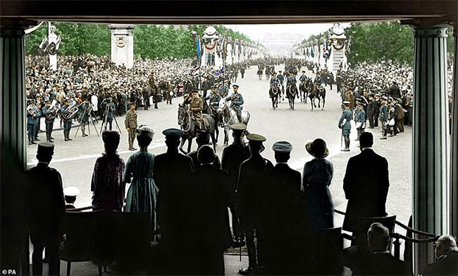 Công bố ảnh màu những khoảnh khắc lịch sử về Thế chiến I