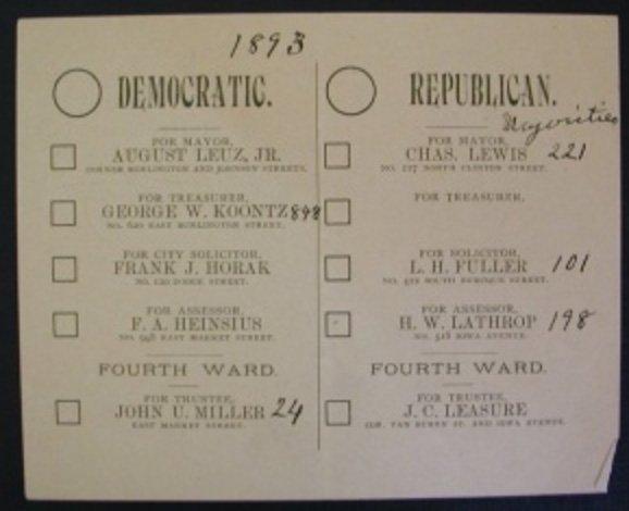 Công nghệ bỏ phiếu tại Mỹ trong hơn 100 năm qua