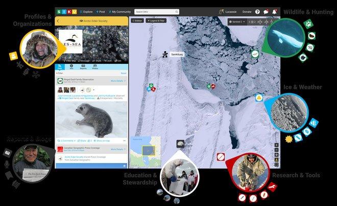 Công nghệ nào giúp người Bắc Cực giữ truyền thống?