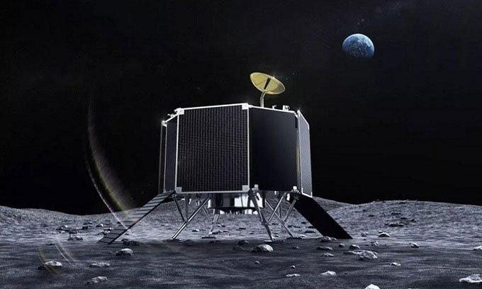 Công ty Nhật công bố tàu đổ bộ Mặt trăng