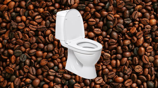Cứ 3 người uống cà phê thì có 1 người buồn đại tiện: Tại sao lại vậy?