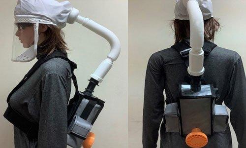 Đại học Bách khoa Hà Nội thiết kế mũ thở khí tươi ngăn nCoV