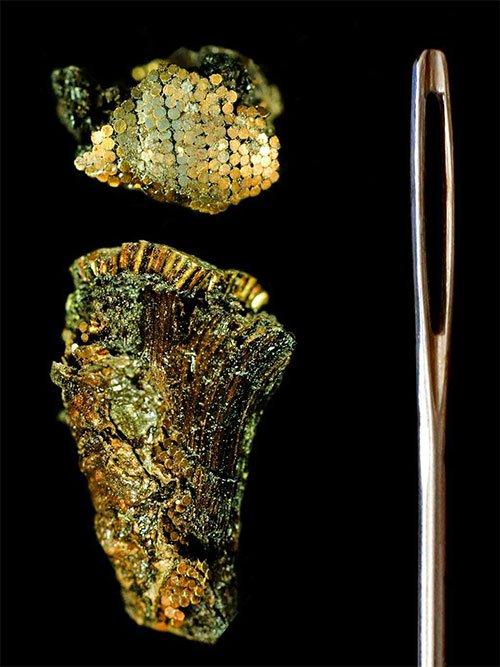 Dao găm 4.000 năm tuổi đính hơn 140.000 hạt vàng