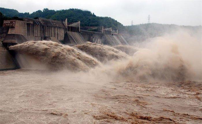 Đập lớn thứ 2 Trung Quốc xả lũ 19 ngày liên tiếp