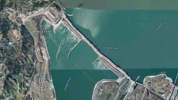 Đập Tam Hiệp ở Trung Quốc có bị biến dạng?