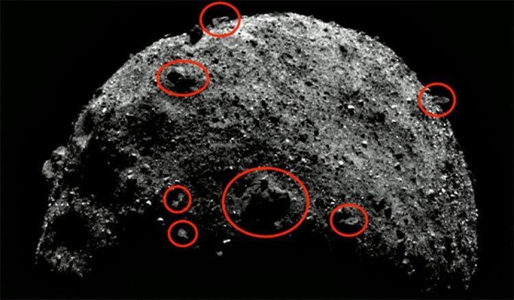 Dấu vết của người ngoài hành tinh được phát hiện trên tiểu hành tinh Bennu?