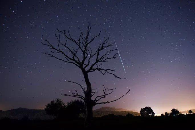 Đêm nay, Việt Nam đón cực đỉnh mưa sao băng Sư Tử bầu trời