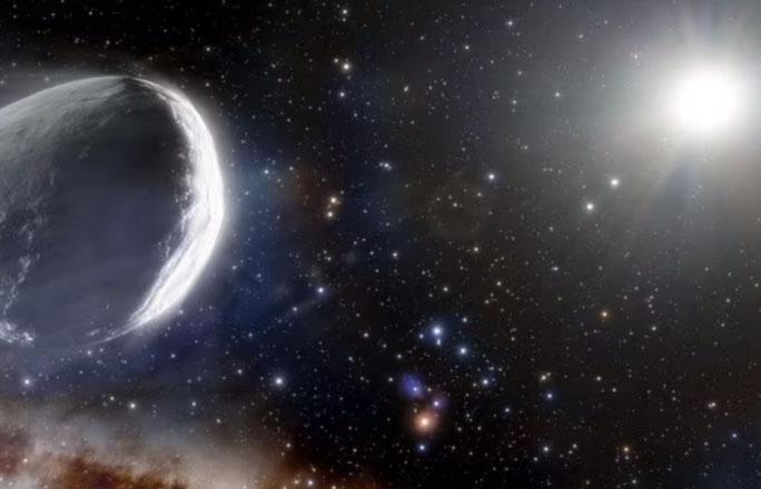 Đến gần chúng ta, siêu sao chổi to bằng 1.000 lần đồng loại sống dậy