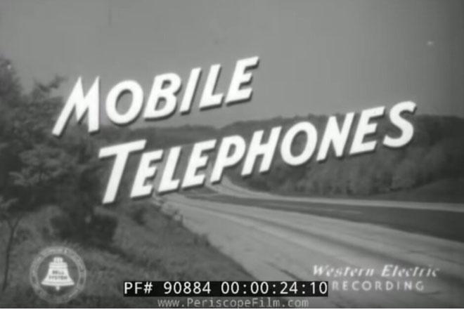 Điện thoại di động 80 năm trước trông thế nào?