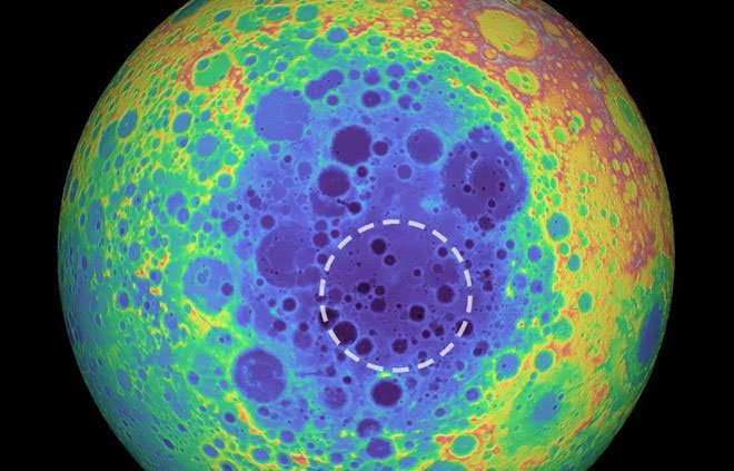 Điều gì tạo nên khối vật chất lớn bất thường trên Mặt trăng?