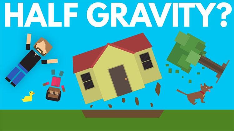 Điều gì xảy ra khi lực hấp dẫn trên Trái đất giảm một nửa?