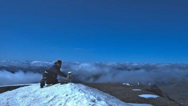 Đỉnh núi từng là nóc nhà Thụy Điển ngày càng lùn đi do khí hậu nóng lên