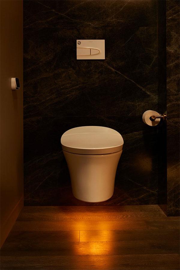 Độc lạ phòng tắm thông minh điều khiển bằng giọng nói