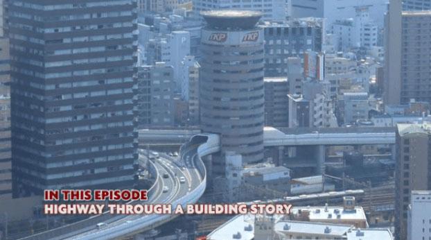 Độc lạ: Tuyến đường sắt, đường cao tốc chạy xuyên thủng qua tòa nhà