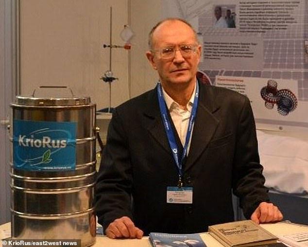 Đóng băng não thiên tài khoa học Nga chờ ngày hồi sinh