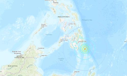 Động đất 6,9 độ gây cảnh báo sóng thần ở Philippines và Indonesia
