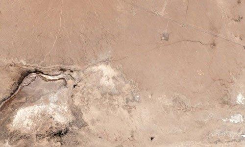 Động đất California tạo khe nứt khổng lồ trên sa mạc