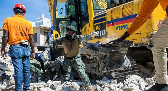 Động đất Haiti: Thương vong tăng vọt lên hơn 7.000 người