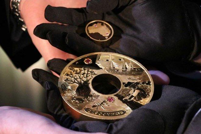 Đồng tiền báu vật đắt nhất trong lịch sử Australia trị giá 1,8 triệu USD