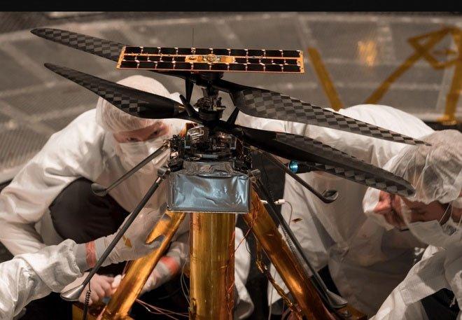 Drone trên Hỏa tinh dùng chip Snapdragon 7 năm tuổi