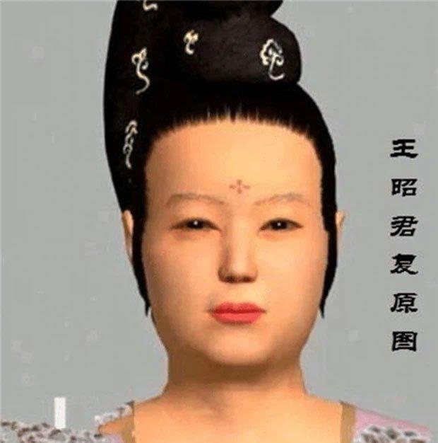Dung mạo Vương Chiêu Quân được phục hồi nguyên gốc, cư dân mạng sốc không dám tin vào mắt mình