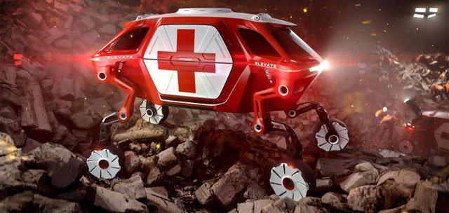 Được truyền cảm hứng từ Transformer, Huyndai chế xe ô tô biết biến hình thành cỗ máy đi bộ