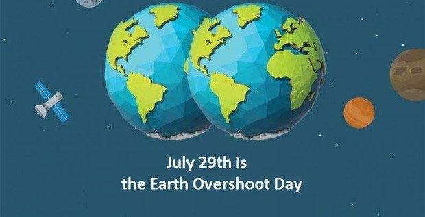 Earth Overshoot Day - thời điểm nhân loại lạm dụng tài nguyên vượt ngưỡng phục hồi của Trái đất lại đến