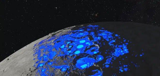 Giả thuyết mới: Nước trên Mặt trăng do gió từ Trái đất thổi sang
