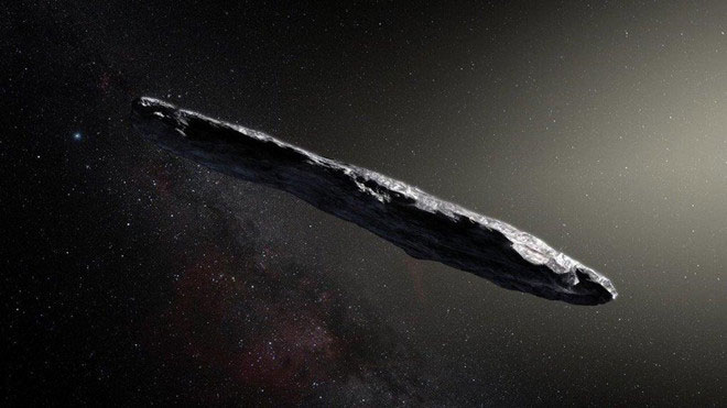 Giả thuyết mới về điếu xì gà bay kỳ lạ Oumuamua