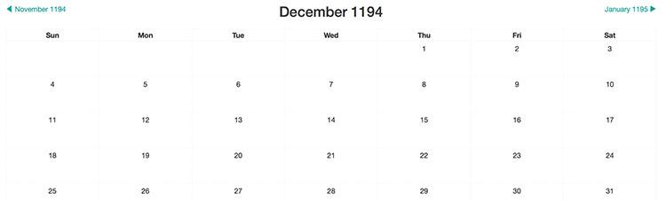 Giải mã bí ẩn tháng 12 có 5 thứ Sáu, 5 thứ Bảy, 5 Chủ Nhật đang chia sẻ khắp cư dân mạng