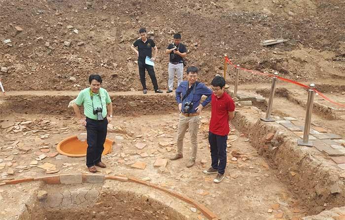 Giải mã thêm cấu trúc Chính điện Kính Thiên-Hoàng thành Thăng Long