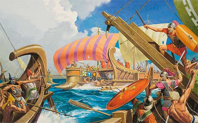 Giải mã vũ khí giúp đội quân La Mã cổ đại bất khả chiến bại trên chiến trường